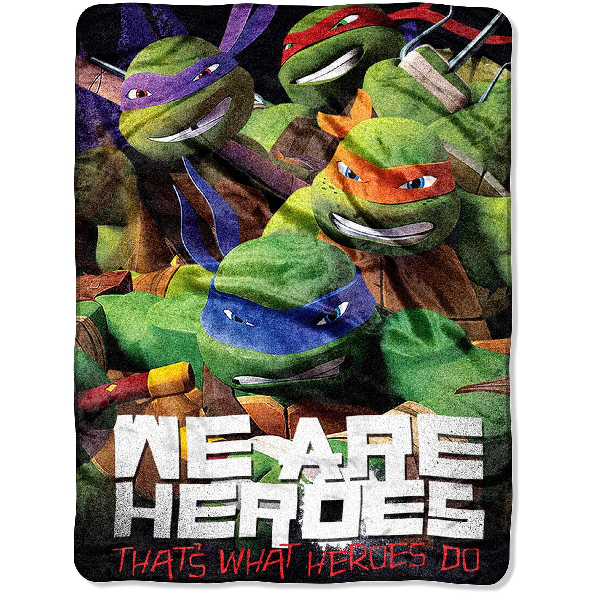 "Nickelodeon Teenage Mutant Ninja Turtles Totally Epic 46"" x 60"" Micro Raschel Throw, 1 Each"