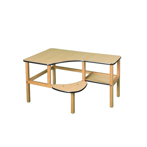 Wild Zoo Preschool Wood 23'' Computer Desk