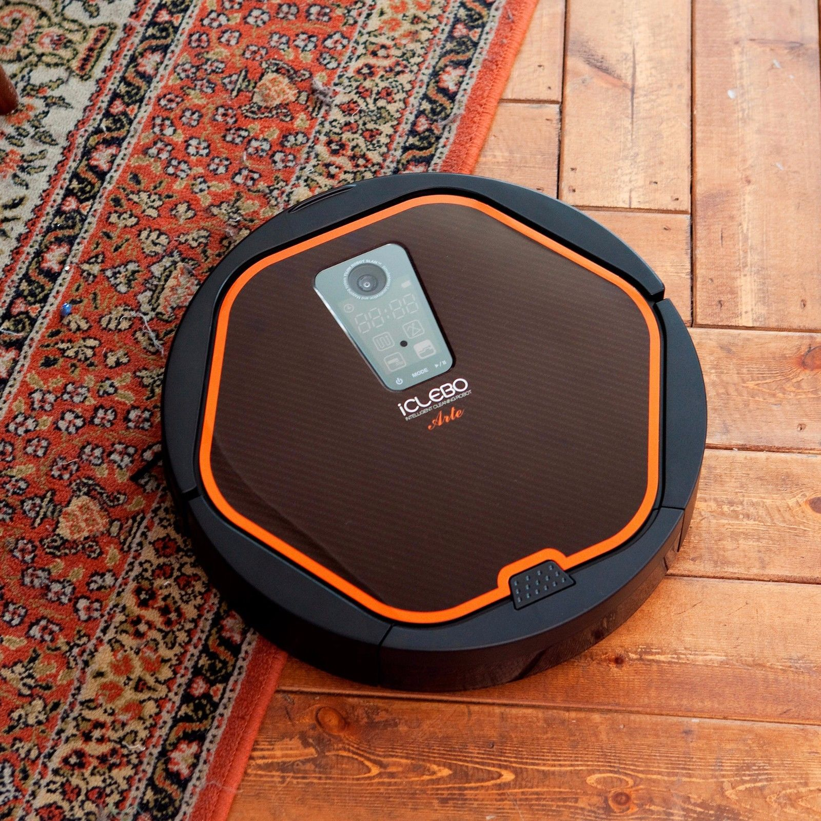 iClebo YCR-M05-10 Arte Smart Home/Office Vacuum Cleaner and Floor Mopping