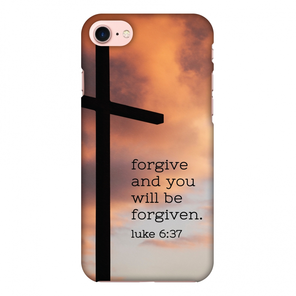 iPhone 8 Case - Bible Wisdom 5, Hard Plastic Back Cover. Slim Profile Cute Printed Designer Snap on Case with Screen Cleaning Kit