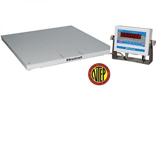 NTEP 5000LB 4'x4' SHIPPING, FLOOR, PALLET SCALE, Legal fo...
