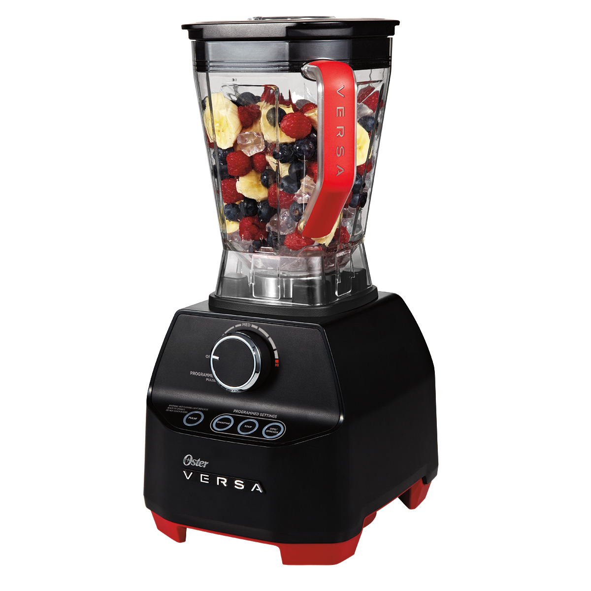 Oster Versa Pro Performance Variable Speed Black Blender with Tamper, 1 Each
