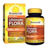 Renew Life - Ultimate Flora Probiotic Everyday - 15 billion - 30 vegetable capsules