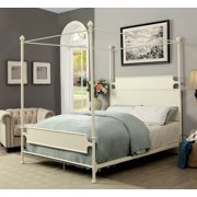 Furniture of America Natalia Canopy Bed, Multiple Sizes, Multiple Colors