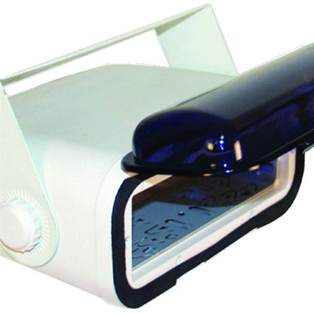 Universal Marine Stereo Housing with Full Wired Casing (White)