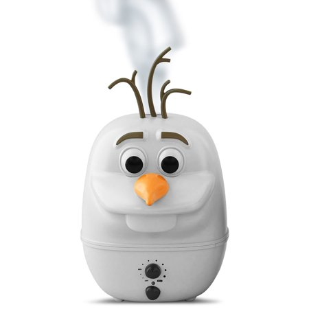 Disney's Frozen Olaf 1 Gallon Ultrasonic Cool Mist Humidifier- XSDP -09744 - Why give your child a basic humidifier when you can give them one shaped like their favorite character with the