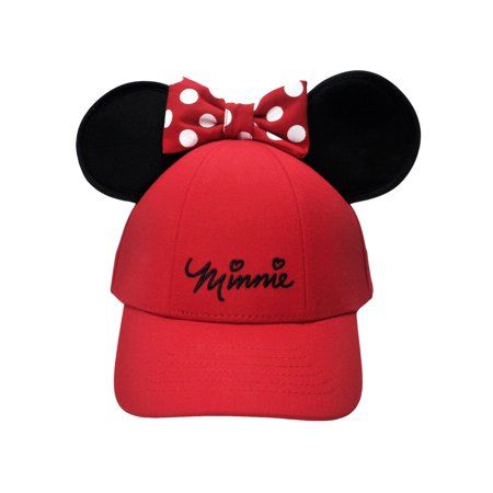 a89cdf1c Girls Minnie Mouse Red Hat with Ears & Charm Bracelet | Walmart Canada