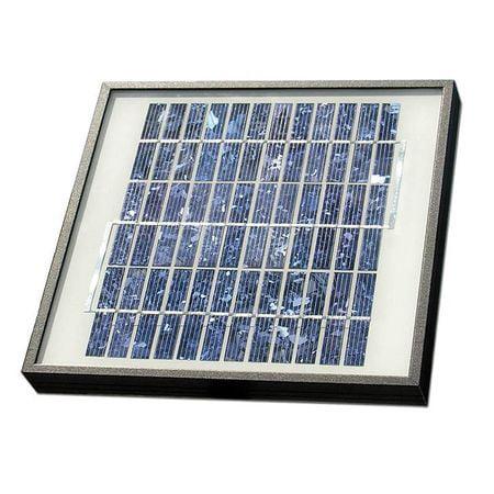 GTO FM123 Solar Panel Kit,10W,For Gate Operators