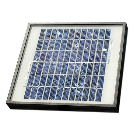 Solar Panel Kit,10W,For Gate Operators GTO FM123