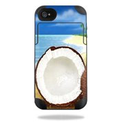 Mightyskins Protective Vinyl Skin Decal Cover for Mophie Juice Pack Plus iPhone 4 / 4S External Battery Case wrap sticker skins Coconuts
