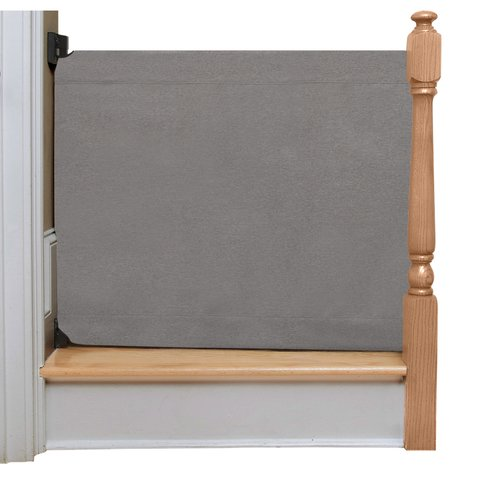 The Stair Barrier Wall to Banister Safety Gate