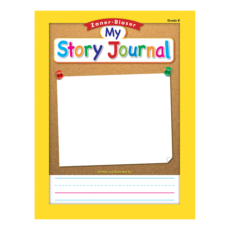 Essential Learning Products Zaner Bloser Story Journal - Kindergarten