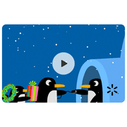 Igloo Penguins Walmart eGift Card