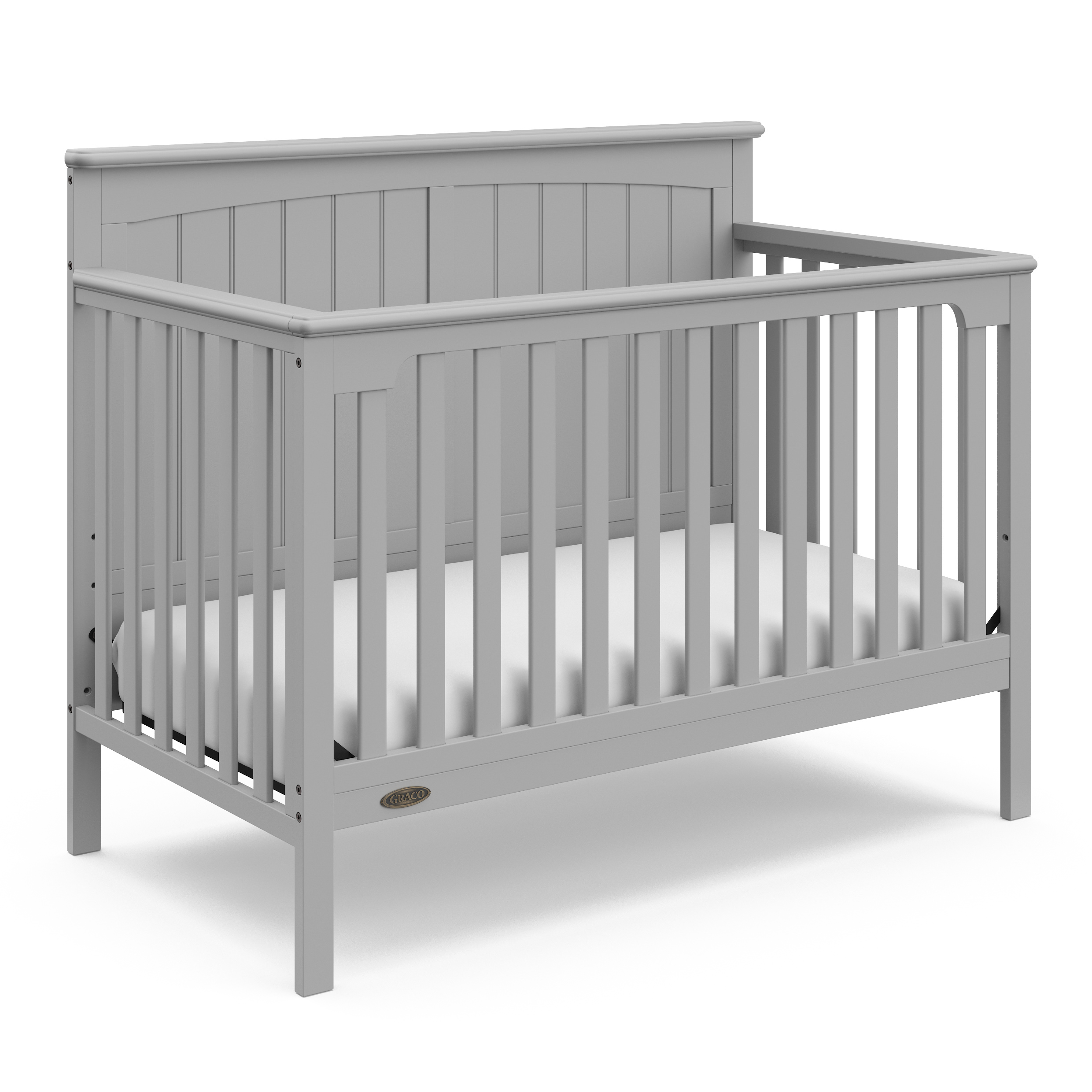 Graco Ellis 4-in-1 Convertible Crib Pebble Gray