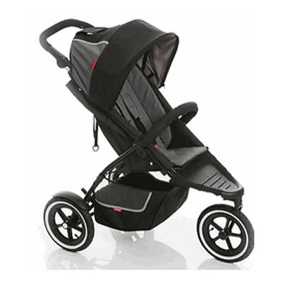 PHIL&TEDS phil Dash Buggy Stroller  - Charcoal