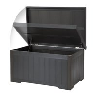 Trinity THBGR-3108 70 gal EcoStorage Outdoor Deck Box, Slate Gray - 21 x 42 x 26.5 in.