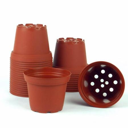 Image of 3 in. dia. Terra Cotta Pots (30-pack)