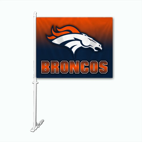 Team Pro-Mark NFL Ombre Car Flag