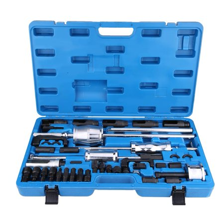 Ashata 40Pcs Common Rail Injector Extractor Diesel Puller Set Injection Tool Kit, Injector Extractor Puller,Injector (Common Rail Fuel Injection)