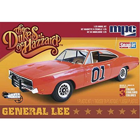 Models 1/25 Dukes of Hazard Snap '69 Dodge Charger General Lee, Skill Level 1,for ages 8 and up By MPC Ship from (1969 Dodge Charger General Lee For Sale)
