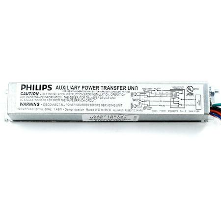 Philips Chloride MTD Auxiliary Emergency Lighting Transfer Device, 120/277V