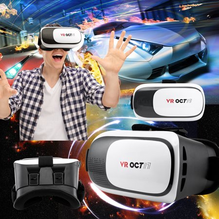 Oct17 VR 2.0 2nd Gen Virtual Reality 3D Glasses Goggle Headset Adjustable Focal Eye Pupil Distance Resin Lens For Smartphones IOS Android Iphone 6 plus Samsung Galaxy S6 Edge+