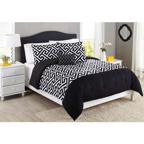Better Homes and Gardens Greek Key 5-Piece Comforter Set