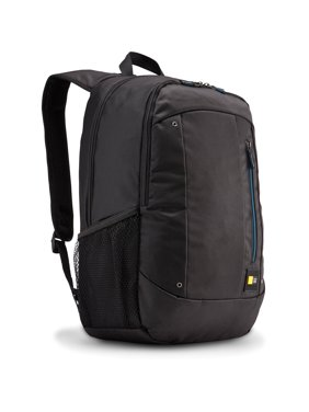 "Case Logic Jaunt WMBP-115 Carrying Case (Backpack) for 16"" Notebook - Black - Polyester - Shoulder Strap"