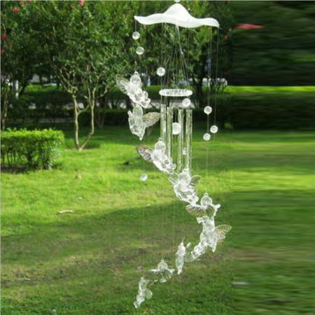 Angel Large Wind Chimes Bells Ornament Windbell Gifts Yard Garden Home-Decors Uk