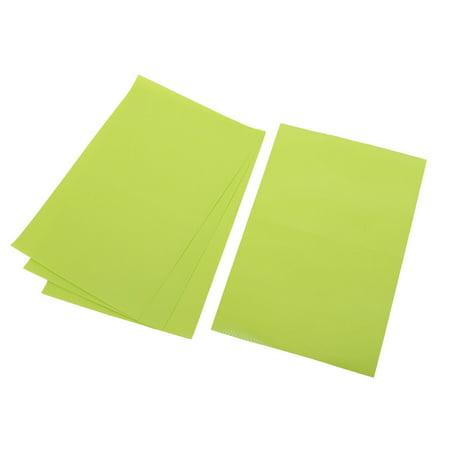 Green Tile Coaster (Unique Bargains 4pcs Home Table Plastic Oil Resistance Bowl Cushion Mat Coaster Green Placemat)