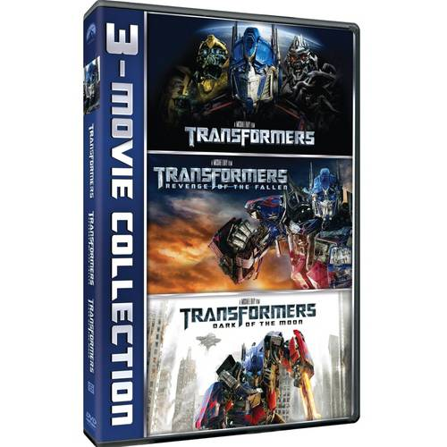 Transformers 3-Movie Collection: Transformers / Transformers: Revenge Of The Fallen / Transformers: Dark Of The Moon