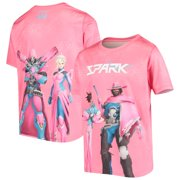 Hangzhou Spark Youth Fight as One Sublimated T-Shirt - Pink