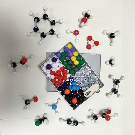 240pcs Molecular Structure Building Model Kit Labs