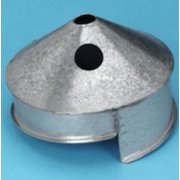 """Stainless Steel Installation Cone - 5.5"""""""