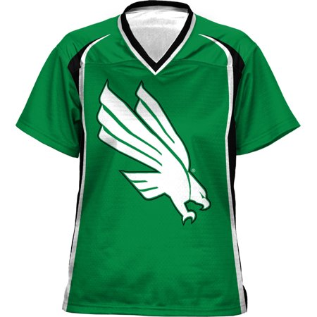 North Texas Football - ProSphere Girls' University of North Texas Wild Horse Football Fan Jersey