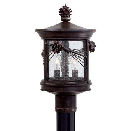 Minka Lavery Abbey Lane 2 Light 9156-A357 Outdoor Post Light 2 Light Outdoor Post