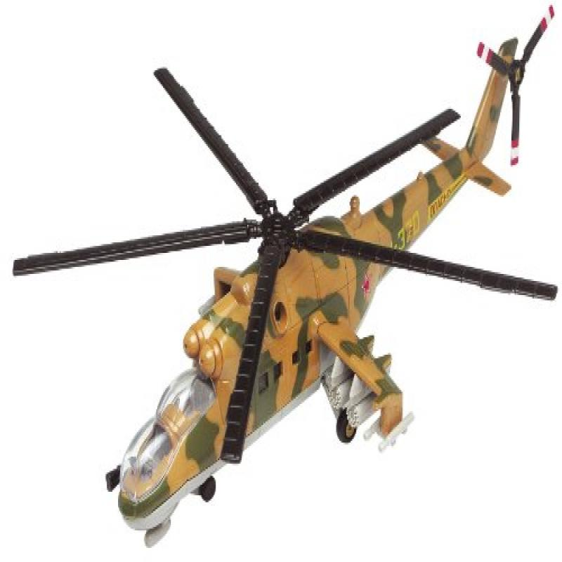 Motormax Motor Max 1:60 Mil Mi-24 Hind Helicopter
