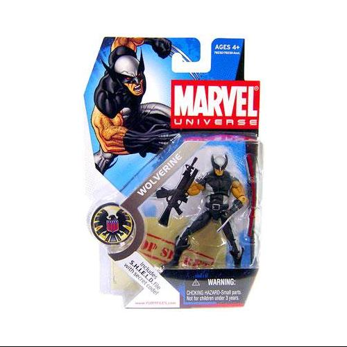 Hasbro Marvel Universe Series 1 Wolverine Action Figure [X-Force Uniform]