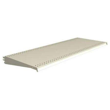 Lozier Store Fixtures DL422N PLT 4 ft. Wide x 22 in. Deep, Platinum Shelf - Pack Of 2 ()