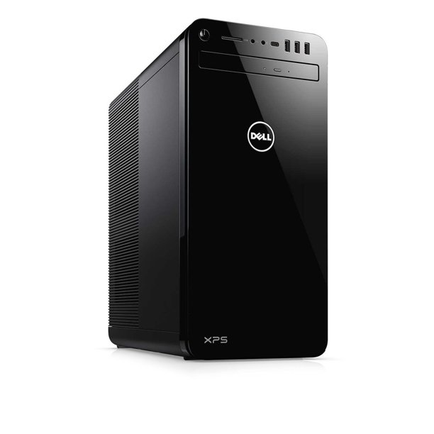 Dell XPS 8930 Tower Desktop, 8th Gen Intel 6-Core i7-8700 Upto 4.6GHz, 32GB DDR4, 128GB SSD Plus 1TB HDD, DVD-RW, Wifi, Bluetooth, Dual Monitor Capable, Windows 10 Professional