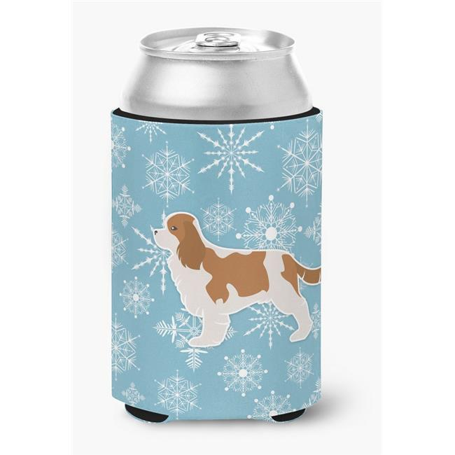 Carolines Treasures BB3549CC Winter Snowflake Cavalier King Charles Spaniel Can or Bottle Hugger - image 1 of 1