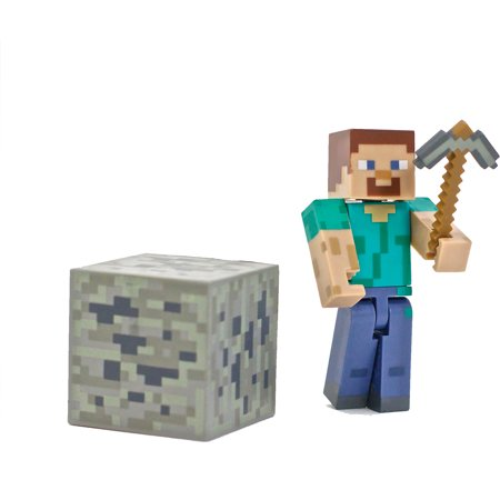 Minecraft Core Steve with Accessories