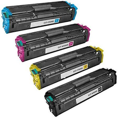 Compatible Samsung CLT-K504S / CLT-C504S / CLT-M504S / CLT-Y504S toner cartridges - 4-pack