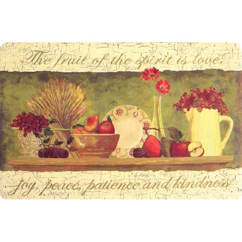 BuyMATS Inc. Cushion Comfort Fruitful Journey Kitchen Mat