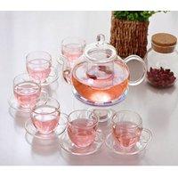 Kendal Glass Filtering Tea Maker Set