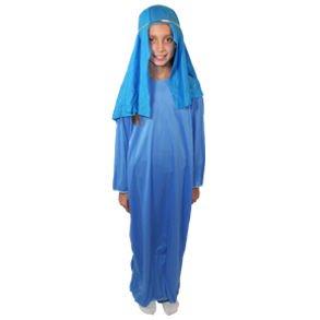 Childs Large Light Blue Nativity