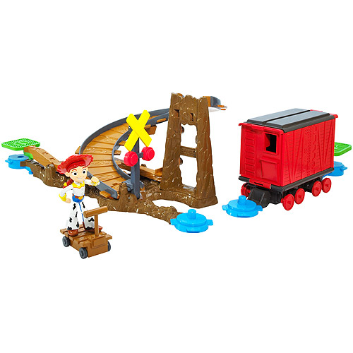 Toy Story 3 Action Links Stunt Set Jessie to the Rescue Playset by