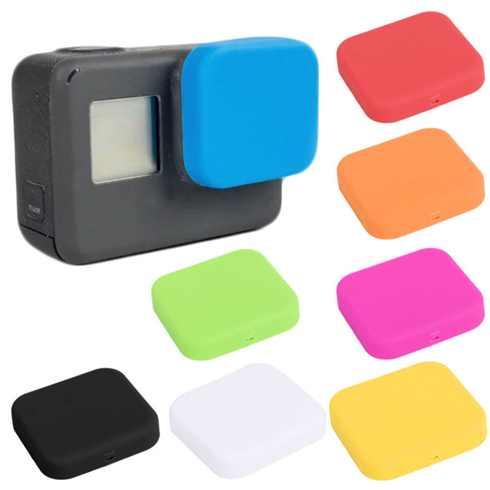 Girl12Queen Silicone Lens Protector Cover Cap for GoPro HERO 5 Action Camera Accessories