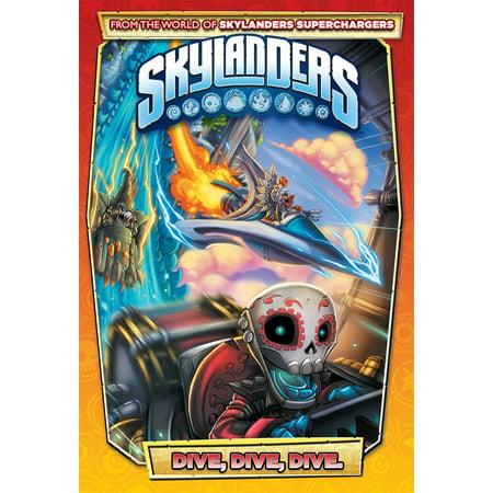 Skylanders: Dive, Dive, Dive - Skylander Stickers
