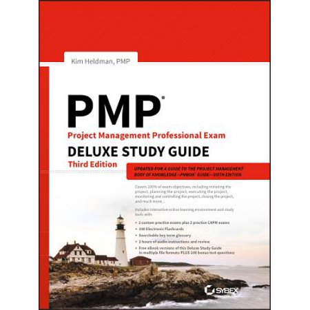 Pmp Project Management Professional Exam Deluxe Study Guide Deluxe Project Center